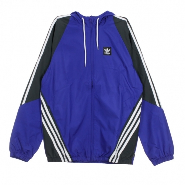 TRACK JACKET INSLEY JACKET ACTIVE BLUE/DGH SOLID GREY/WHITE