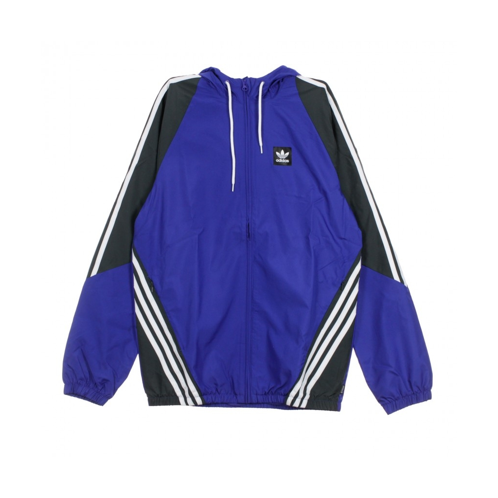 8a88dde41 TRACK JACKET INSLEY JACKET ACTIVE BLUE / DGH SOLID GRAY / WHITE ...
