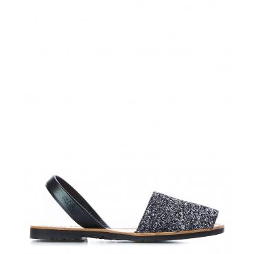Sandali Glitter Black