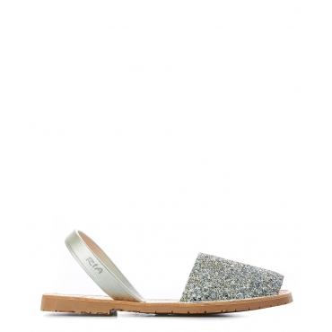 Sandali Glitter Silver