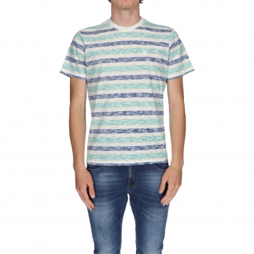 T-SHIRT MATTHEW STRIPE COLORS ELEMENT TRUE NAVY