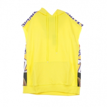 FELPA CAPPUCCIO SLEEVELESS YELLOW