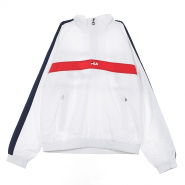 GIACCA A VENTO ANORAK JONA BRIGHT WHITE/BLACK IRIS/TRUE RED