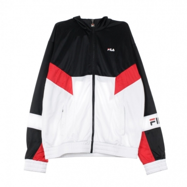 TRACK JACKET TALEN BLACK/TRUE RED/BRIGHT WHITE/LAPIS BLUE