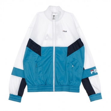 TRACK JACKET TALEN CARIBBEAN SEA/BRIGHT WHITE