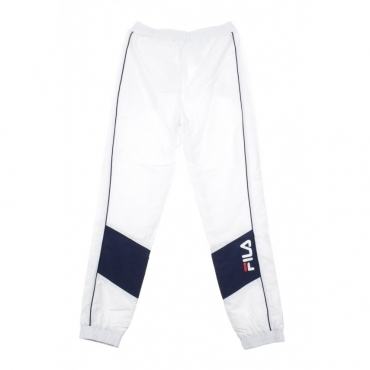 TRACK PANT TALMON WOVEN PANT BRIGHT WHITE/BLACK IRIS