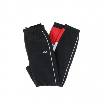 TRACK PANT TALMON WOVEN PANT BLACK/BRIGHT WHITE/TRUE RED