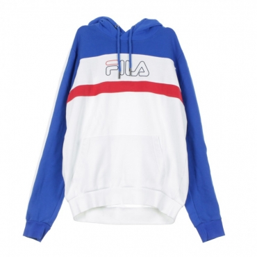 FELPA CAPPUCCIO MIRO HOODIE BRIGHT WHITE/LAPIS BLUE/TRUE RED