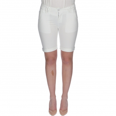 SHORTS NALI W TIMEZONE pure white