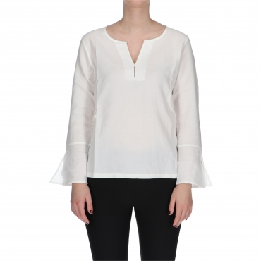 BLUSA EASY W TIMEZONE pure white