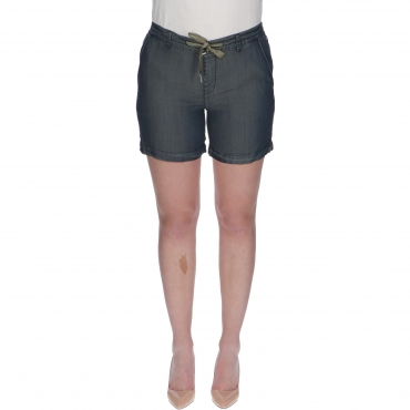 SHORTS RHUNA REGULAR W TIMEZONE clean indigo
