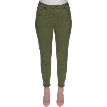 PANT REG RADHIA W TIMEZONE rainforest green