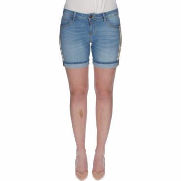 SHORTS ALEXA DENIM REG W TIMEZONE basic blue wash
