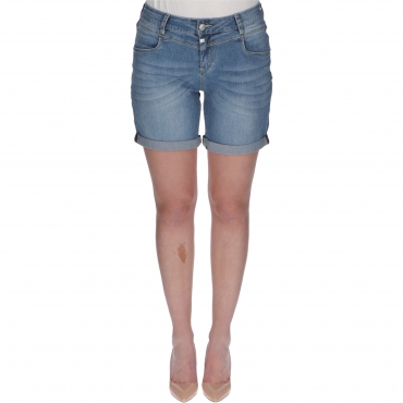 SHORTS CHLESSIA COMF DENIM W TIMEZONE light sky wash
