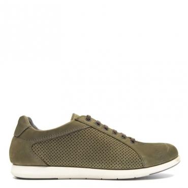 Sneaker flessibile in nabuk NABUKARMY