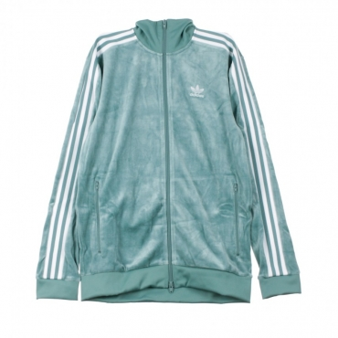 TRACK JACKET COZY TRACK TOP VAPOUR STEEL/WHITE
