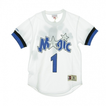 CASACCA NAME  NUMBER MESH CREWNECK TRACY MCGRADY NO1 ORLMAG ORIGINAL TEAM COLORS