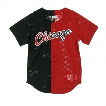 CASACCA SPLIT MESH BUTTON FRONT CHIBUL ORIGINAL TEAM COLORS