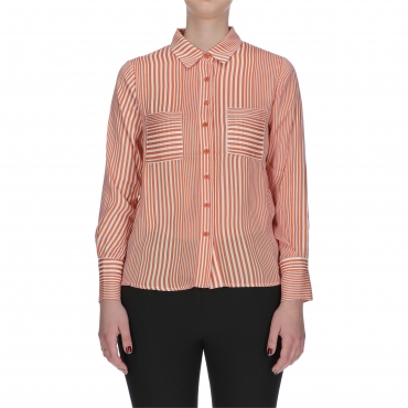CAMICIA CLAUDIA ANONYME ORANGE