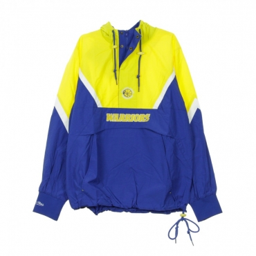 GIUBBOTTO GIACCA A VENTO HALF ZIP ANORAK JACKET GOLWAR ORIGINAL TEAM COLORS