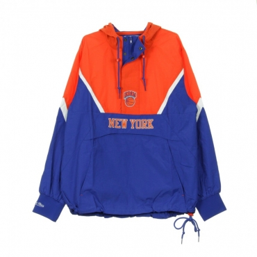GIUBBOTTO GIACCA A VENTO HALF ZIP ANORAK JACKET NEYKNI ORIGINAL TEAM COLORS