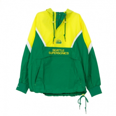 GIUBBOTTO GIACCA A VENTO HALF ZIP ANORAK JACKET SEASUP ORIGINAL TEAM COLORS