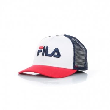 CAPPELLO SNAPBACK TRUCKER CAP BLACK IRIS/TRUE RED/BRIGHT WHITE