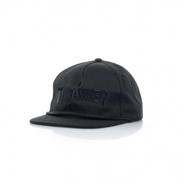CAPPELLO SNAPBACK ROPE SNAPBACK BLACK/BLACK
