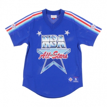 CASACCA NBA MESH V-NECK TEAM DNA SUBLIMATION ALL STAR GAME 1991 ROYAL