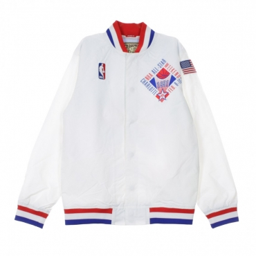 GIUBBOTTO GIACCA A VENTO ALL STAR WARM UP JACKET ALL STAR GAME EAST 1991 WHITE/ORIGINAL TEAM COLORS