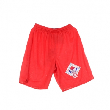 PANTALONE CORTO BASKET PRACTICE SHORTS ALL STAR GAME 91 SCARLET