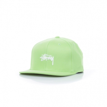 CAPPELLO SNAPBACK STOCK CAP LIME