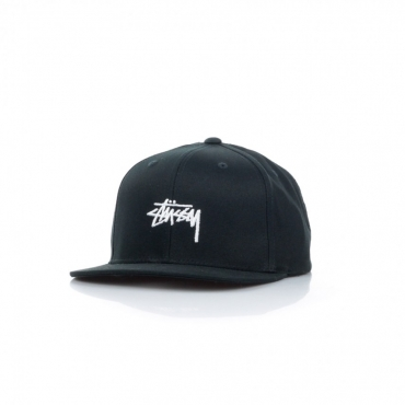 CAPPELLO SNAPBACK STOCK CAP BLACK
