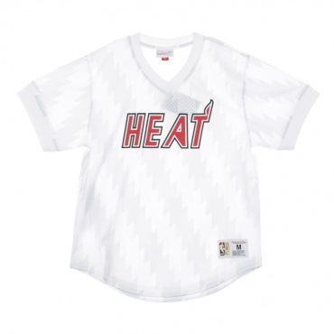 CASACCA NBA WORDMARK MESH V-NECK MIAHEA ORIGINAL TEAM COLORS