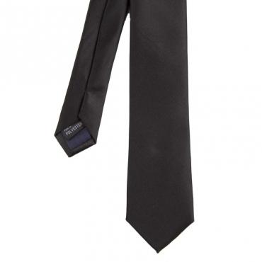 Cravatta tinta unita 900BLACK