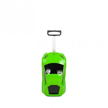 TROLLEY CAR LAMBORGHINI GREEN