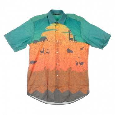 CAMICIA MANICA CORTA SUNSET MULTI