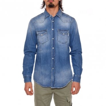 Camicia denim DENIM MEDIO
