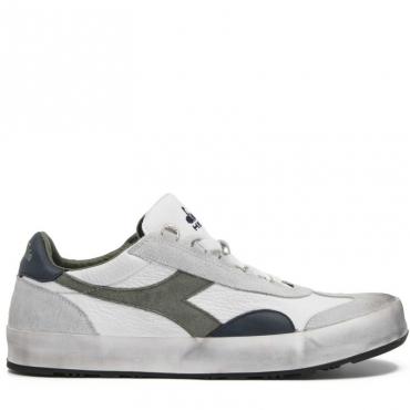 Sneakers Heritage con dettagli verdi e blu 70397