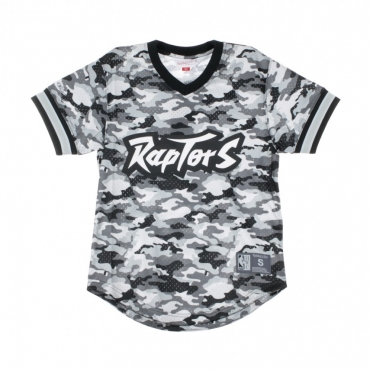 CASACCA NBA CAMO MESH V-NECK TEAM COLOUR TORRAP CAMO GREY