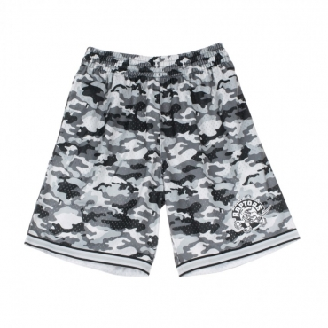PANTALONCINO TIPO BASKET NBA CAMO MESH TEAM COLOUR SHORT TORRAP CAMO GREY