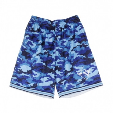 PANTALONCINO TIPO BASKET NBA CAMO MESH TEAM COLOUR SHORT GOLWAR CAMO BLUE