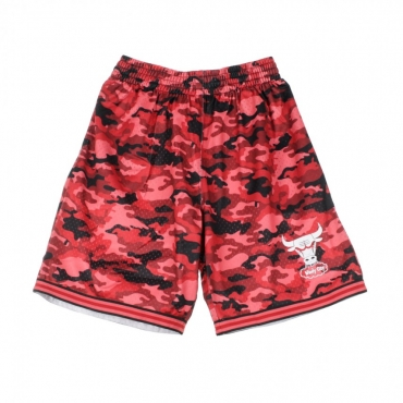 PANTALONCINO TIPO BASKET NBA CAMO MESH TEAM COLOUR SHORT CHIBUL CAMO RED