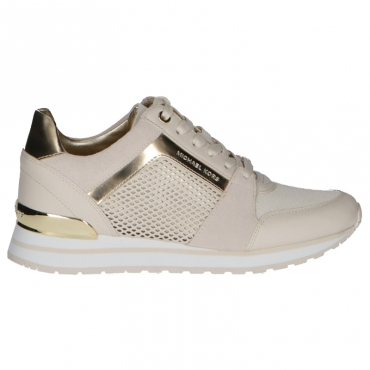 Sneaker Billie Trainer Michael Kors Beige