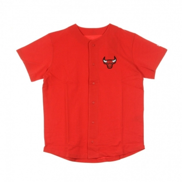 CASACCA BOTTONI NBA LOGO BUTTON UP CHIBUL FIRE RED