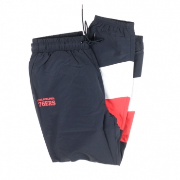 TRACK PANT NBA COLOUR BLOCK PHI76E NAVY/ORIGINAL TEAM COLORS