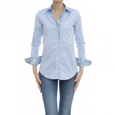 Camicia donna - Pj9 d43 camicia sfiancata bottone pressione UB5