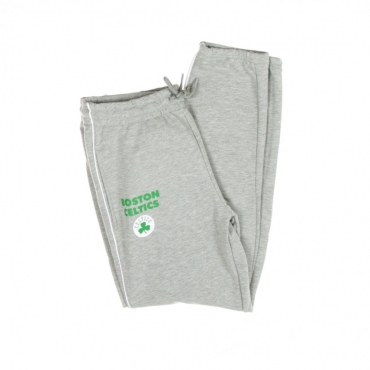 PANTALONE TUTA LEGGERO NBA STRIPE PIPING JOGGER BOSCEL LIGHT GREY HEATHER/ORGINAL TEAM COLORS
