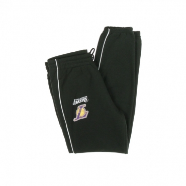 PANTALONE TUTA LEGGERO NBA STRIPE PIPING JOGGER LOSLAK BLACK/ORIGINAL TEAM COLORS