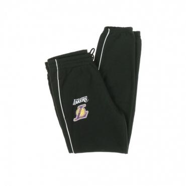 PANTALONE TUTA LEGGERO NBA STRIPE PIPING JOGGER LOSLAK BLACK/ORIGINAL TEAM COLORS